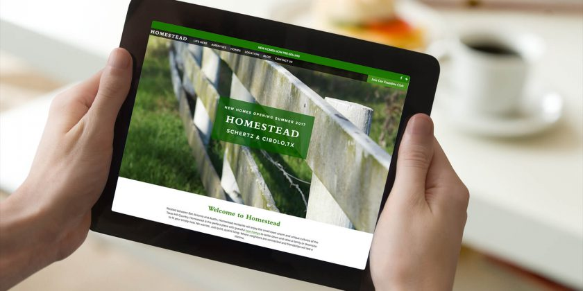 New Homestead Website is Live!