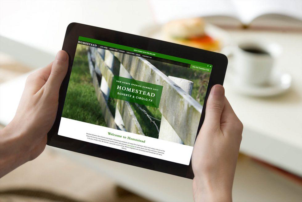 New Homestead Website is Live!