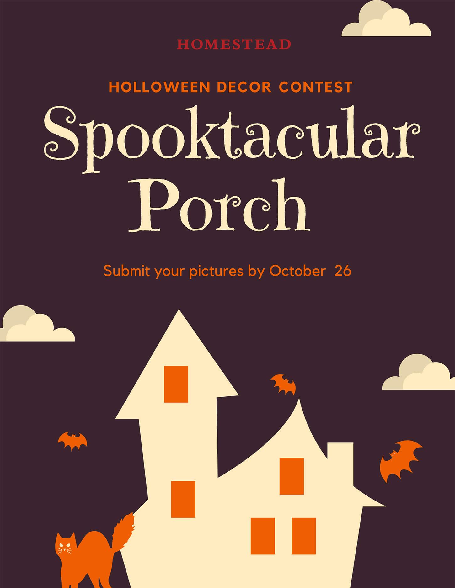 Spooktacular Porch