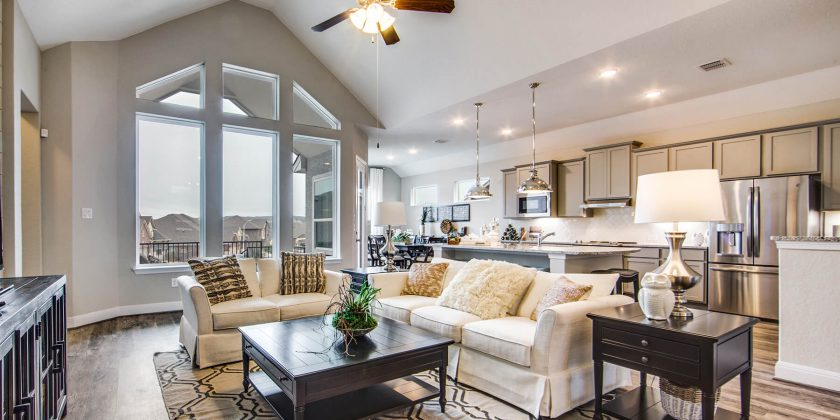 New Homes Are Springing Up Throughout Texas